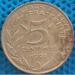 PIÈCE MONNAIE 5 Centimes...