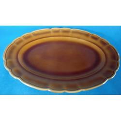 Grand plat creux  ovale en...