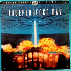 LASER DISC INDEPENDENCE DAY...