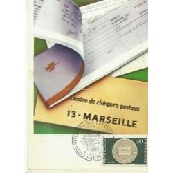 CARTE POSTALE CEF 1er JOUR...