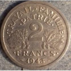 PIÈCE MONNAIE 2 FRANCS ETAT...