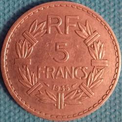PIÈCE MONNAIE 5 FRANCS...