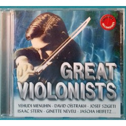 CD  GREAT VIOLONISTS  Ref 0627