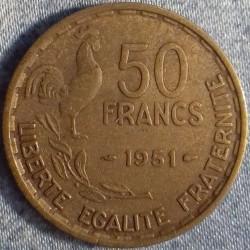 PIÈCE MONNAIE  50 FRANCS...