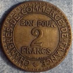 PIÈCE MONNAIE  2 FRANCS...
