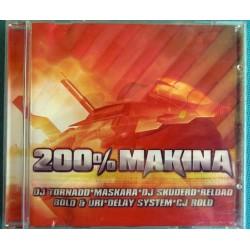 ALBUM 1 CD 200% MAKINA Ref...