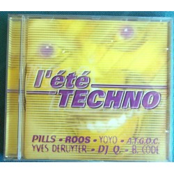 ALBUM 1 CD L'ETE TECHNO Ref...