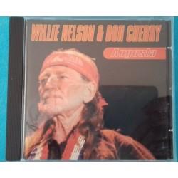 CD WILLIE NELSON & DON...