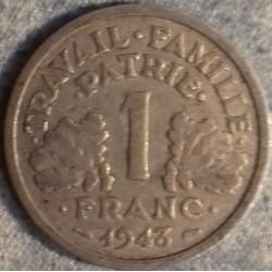 PIÈCE MONNAIE 1 FRANCS ETAT...