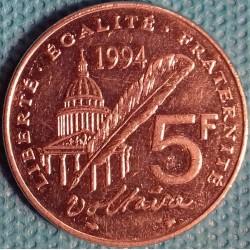 PIÈCE MONNAIE 5 FRANCS 1994...