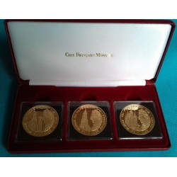 RARE COFFRET 3 PIECES DE...