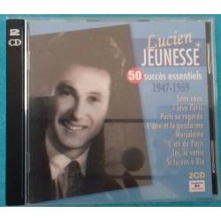 2 CD LUCIEN JEUNESSE 50...