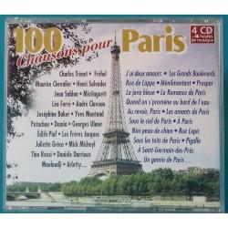 100 CHANSONS POUR PARIS -...