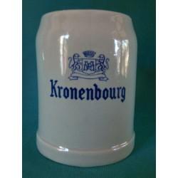 Chope a bière Kronenbourg...