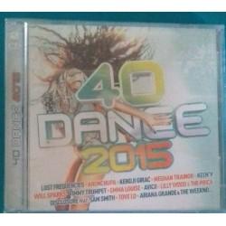 40 DANCE 2015 ( 2 CD ) Ref...