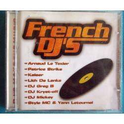 ALBUM 1 CD FRENH DJ'S Ref 0190
