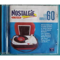 ALBUM 1 CD LES ANNÉES 60...