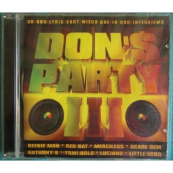 ALBUM 1 CD DON'S PARTY III...