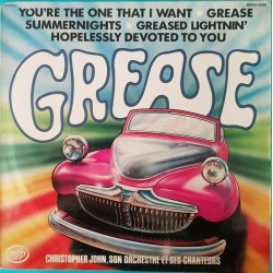 DISQUE 33 TOURS GREASE...