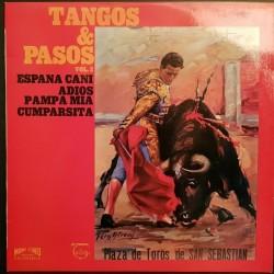 DISQUE 33 TOURS TANGOS...
