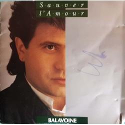 CD DANIEL BALAVOINE SAUVER...