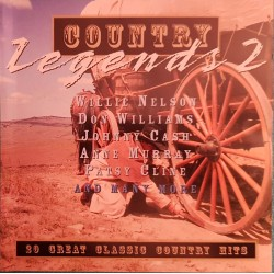 CD  COUNTRY LEGENDS 2 Ref 2139
