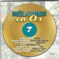 CD MÉLODIES EN OR Vol 7  1585