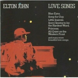 CD ELTON JOHN LOVE SONGS  1973