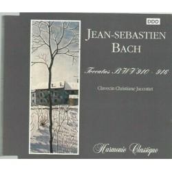 CD JEAN-SEBASTIEN BACH...