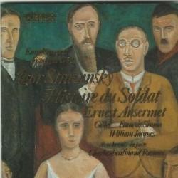 CD IGOR STRAVINSKY HISTOIRE...