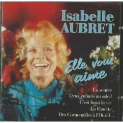 CD ISABELLE AUBRET ELLE...