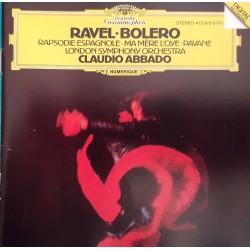 CD RAVEL BOLERO CLAUDIO...