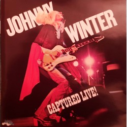 CD JOHNNY WINTER CAPTURED...
