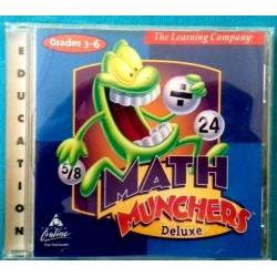 CD-ROM  MATH MUNCHERS...