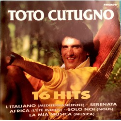 CD TOTO CUTUGNO 16 HITS...