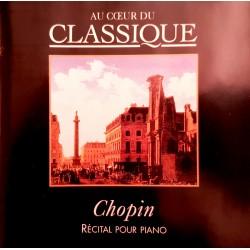 CD CHOPIN RECITAL POUR...