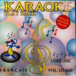 LASER DISC KARAOKÉ PLAY...