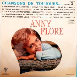 DISQUE 33 TOURS ANNY FLORE...