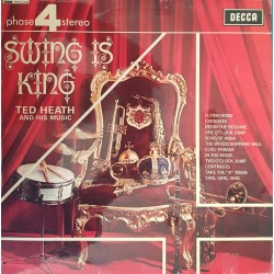 """DISQUE 33 TOURS """"SWING IS..."""
