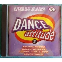 ALBUM 1 CD DANCE ATTITUDE...