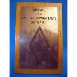 PLAQUE DES ANCIENS...