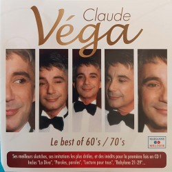 CD CLAUDE VEGA LE BEST OF...