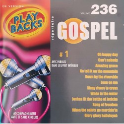 CD PLAY-BACKS GOSPEL Vol...