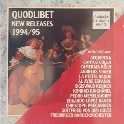 CD QUODLIBET NEW RELEASES...