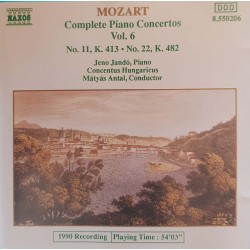 CD MOZART COMPLETE PIANO...