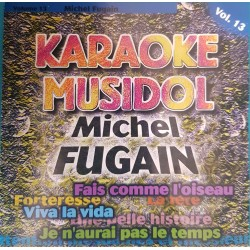 "CD KARAOKE ""MICHEL FUGAIN""..."