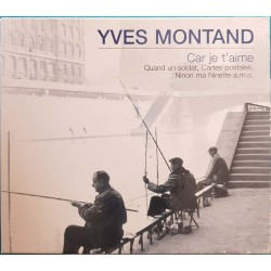 """CD YVES MONTAND """"CAR JE..."""