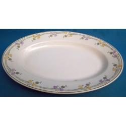 Grand plat ovale en...
