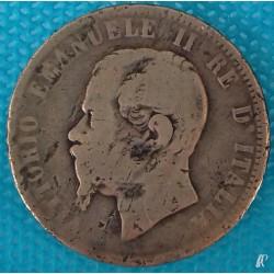 PIÈCE MONNAIE ITALIE 1866...