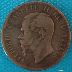PIÈCE MONNAIE ITALIE 1867...